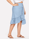 PLUS SIZE Franklyn Skirt - Boho Buys