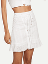 Magnolia Cotton Skirt - Boho Buys