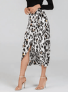 Wild Side Skirt | SNOW LEOPARD - Boho Buys