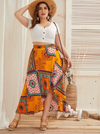 PLUS SIZE Wild Country Skirt - Boho Buys