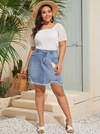 Hail Denim Skirt - Boho Buys