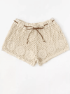 Zagreb Crochet Shorts - Boho Buys