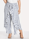 PLUS SIZE Florence Split Pants - Boho Buys