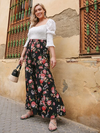 PLUS SIZE Rose Garden Pants - Boho Buys
