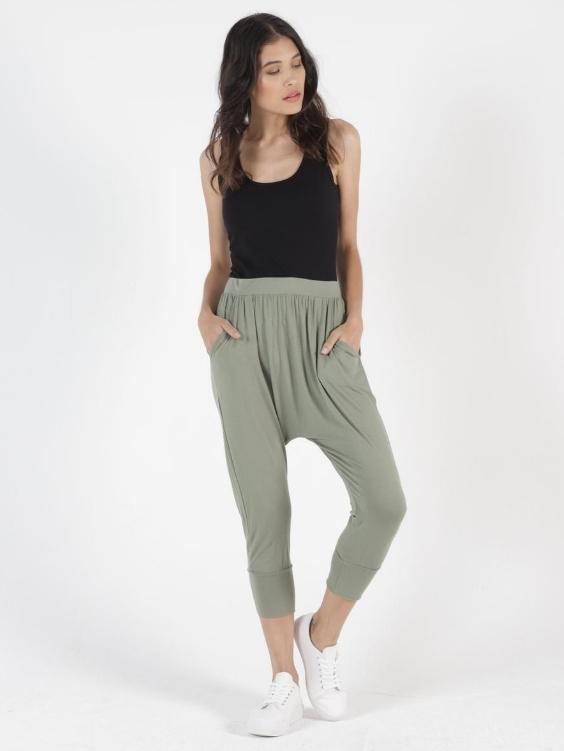 Betty Basics Soho Pants | AVOCADO - Boho Buys