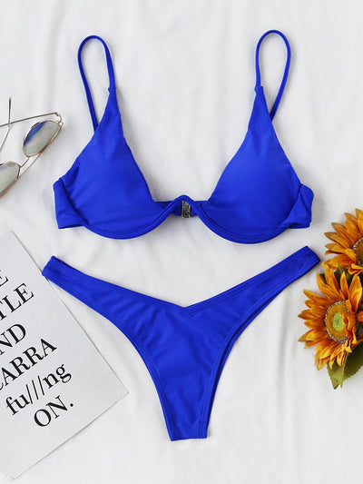 Outlaw Underwire Bikini | BLUE - Boho Buys