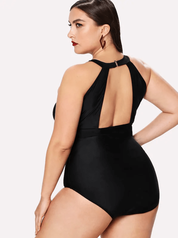 PLUS SIZE Miami One Piece Swimsuit | ONE LEFT - Boho Buys