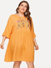 PLUS SIZE Huskinsson Dress | MARIGOLD - Boho Buys