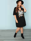 PLUS SIZE Vintage Rock Dress - Boho Buys