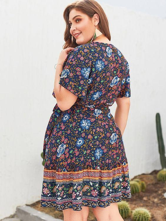 PLUS SIZE Nava Dress | MIDNIGHT - Boho Buys