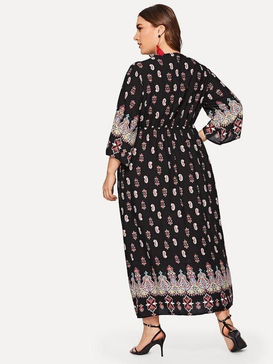 PLUS SIZE Evie Dress | ONE LEFT - Boho Buys