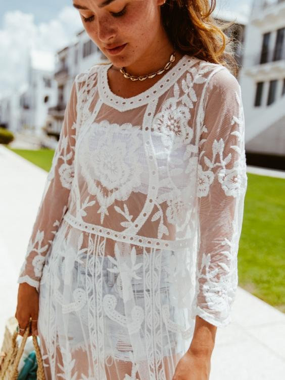 Maja Lace Dress - Boho Buys