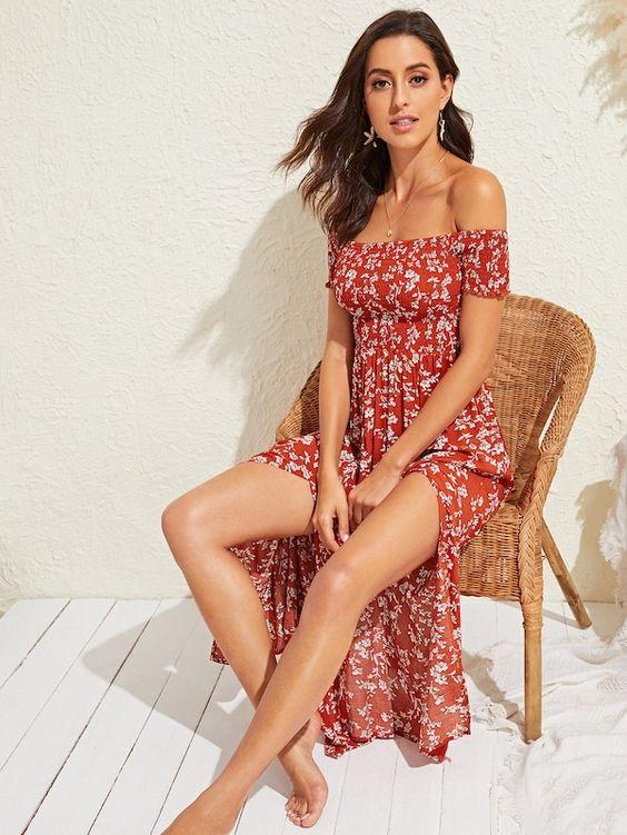 Positano Maxi Dress - Boho Buys