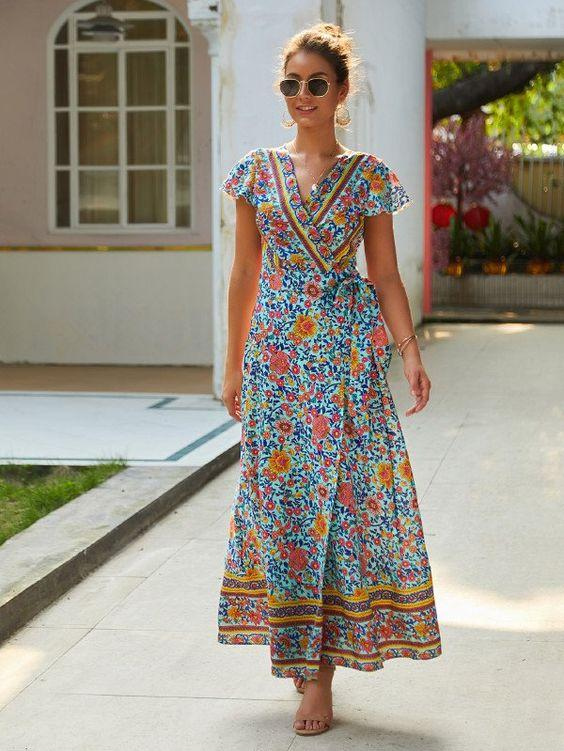 Star Gazer Maxi Dress - Boho Buys