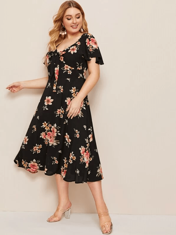 PLUS SIZE La Jolla Dress - Boho Buys