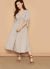 PLUS SIZE Brooke Cotton Dress - Boho Buys
