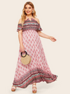 PLUS SIZE Electric Maxi - Boho Buys