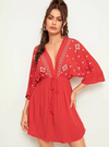 Red Earth Dress | ONE LEFT - Boho Buys