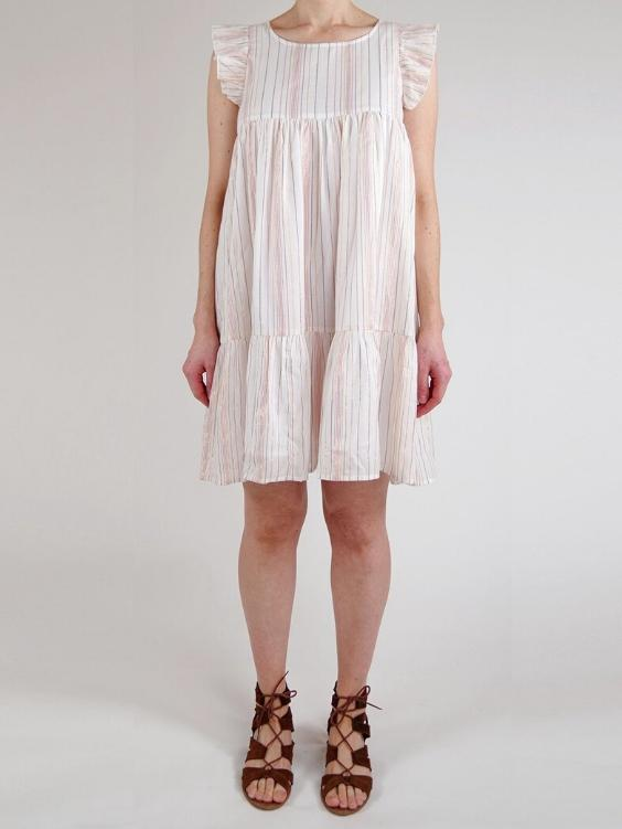 Jeanne Cotton Lurex Dress - Boho Buys