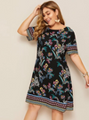 PLUS SIZE Mayla Dress - Boho Buys