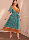 PLUS SIZE Zanzibar Dress - Boho Buys