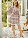 PLUS SIZE Cider Frill Dress - Boho Buys