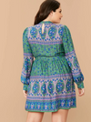 PLUS SIZE Geldof Dress - Boho Buys