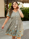 PLUS SIZE Carolina Dress - Boho Buys