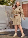 PLUS SIZE NYC Knit Dress - Boho Buys