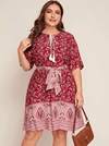 PLUS SIZE Lenny Dress - Boho Buys