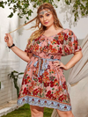 PLUS SIZE Horizon Dress - Boho Buys