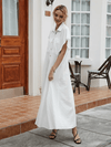 Opulent Cotton Maxi Dress - Boho Buys
