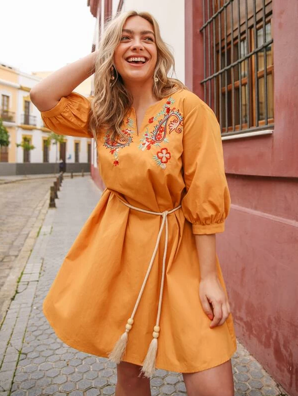 About A Girl Dress - Boho Buys