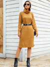 Caramel Creme Knit Dress - Boho Buys