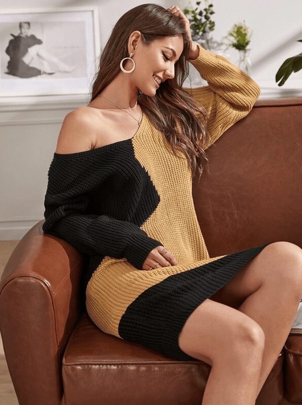All That Matters Knit Dress - Boho Buys