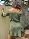 Moss Knit Dress - Boho Buys