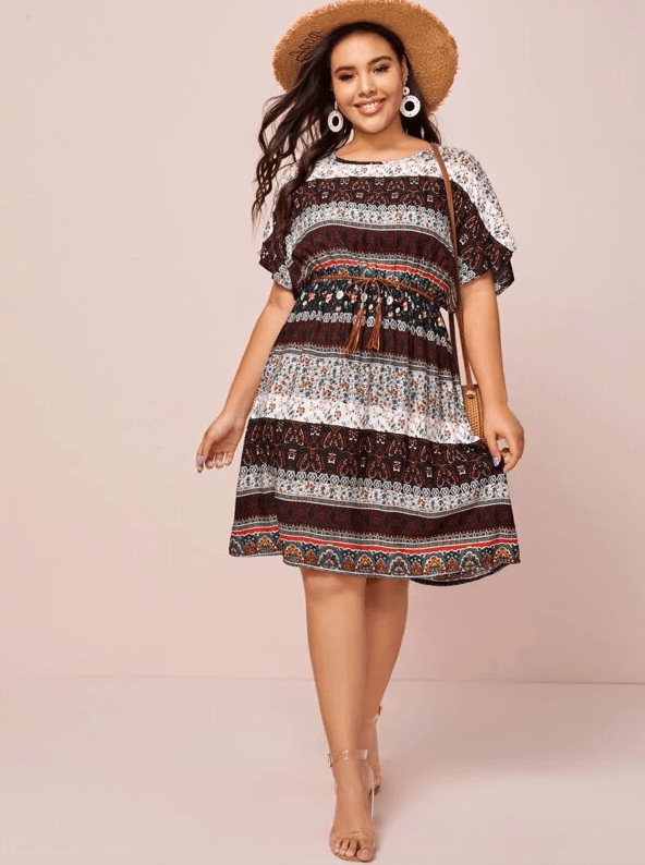 Kai Belted Dress | EARTH - Boho Buys