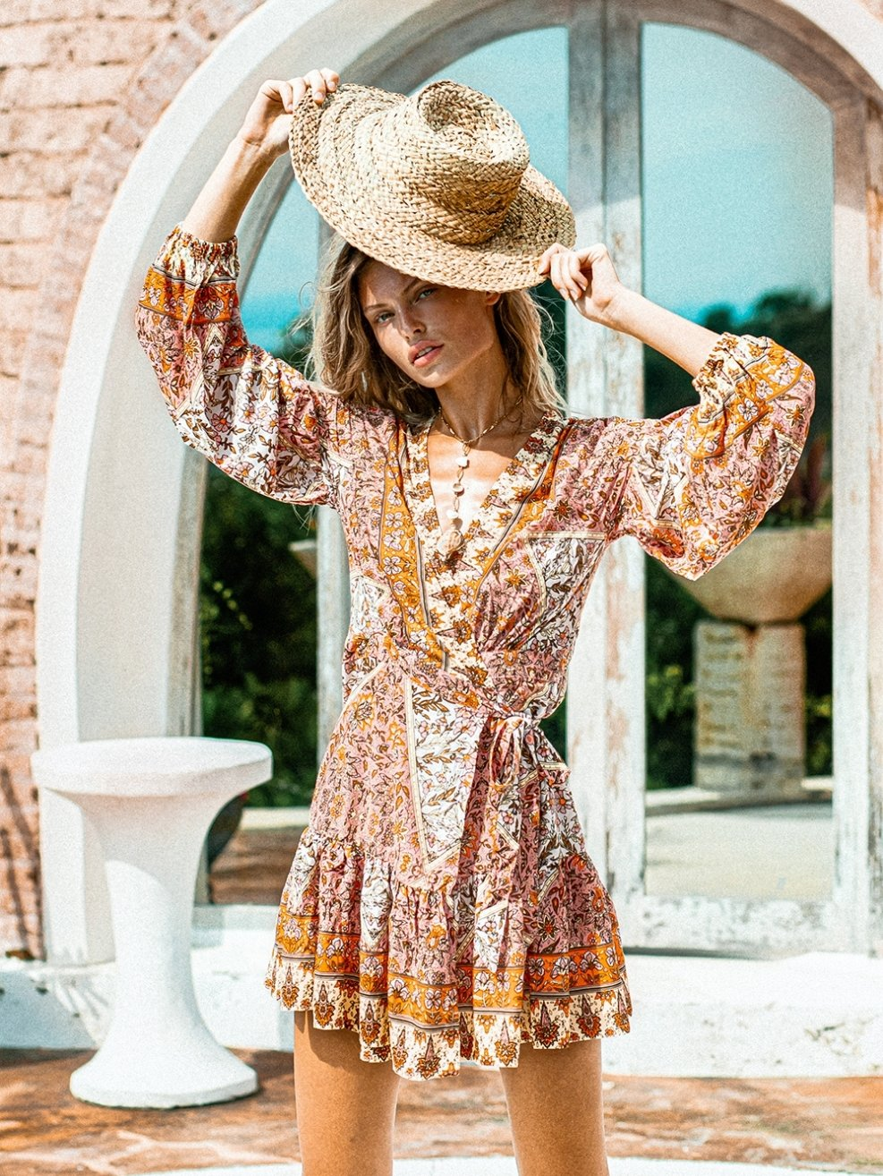 Azalea Sun Dress - Boho Buys