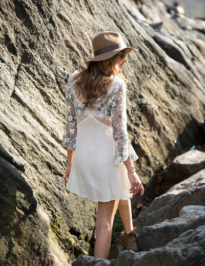 Kiki Lace Tunic Dress - Boho Buys