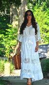 Sun Dance Lace Maxi Dress - Boho Buys