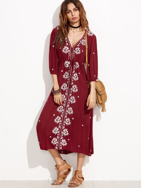 Midnight In Morocco Dress