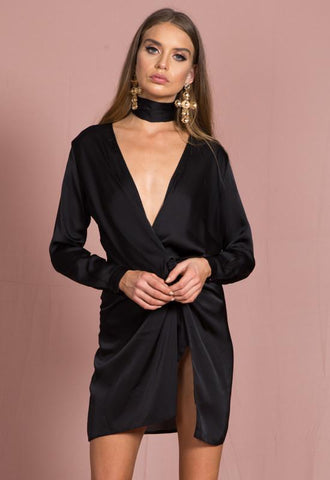 Fame And Lust Dress | BLACK