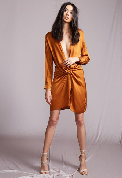RUST Fame And Lust Dress - Boho Buys