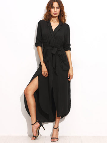 Munich Maxi Shirt Dress