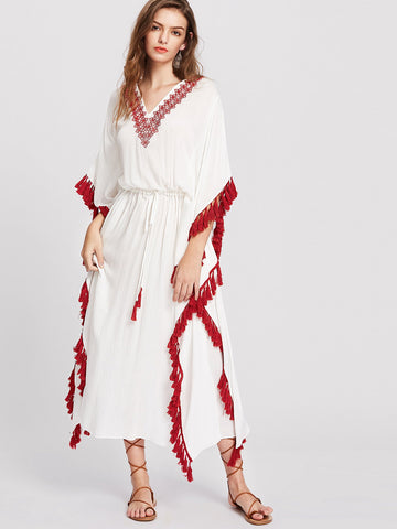 Grecian Kaftan Dress