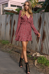 Florence Wrap Dress - Boho Buys