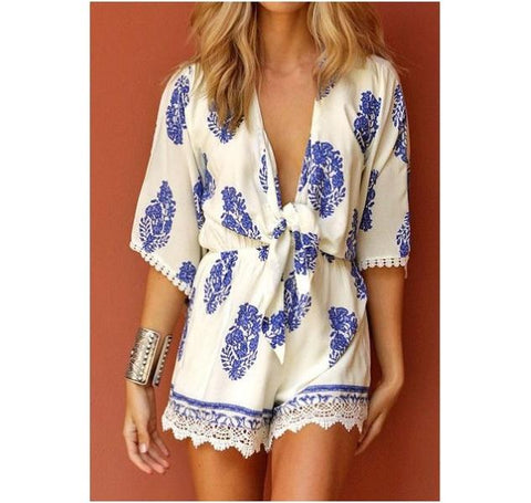 When In Mykonos Playsuit