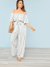 PLUS SIZE Clovelly Jumpsuit | ONE LEFT - Boho Buys