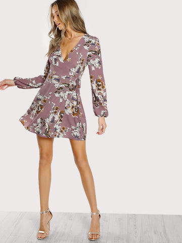 PRE-ORDER Dear Diary Wrap Dress