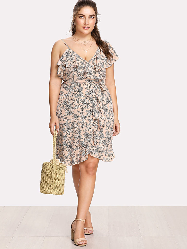 PLUS SIZE Bardot Dress